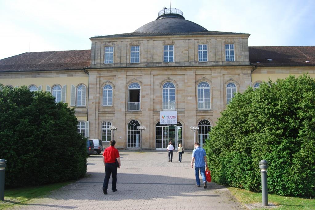 Das Schloss in Hohenheim Quelle: digiparden GmbH