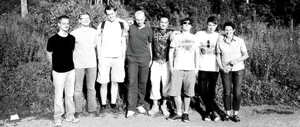 Für die mutigsten Mitarbeiter  der Firma Schommer Media ging es letztes Wochenende in den Waldhochseilgarten nach Rutesheim.