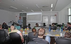 Ruben präsentiert das Unit Testing.